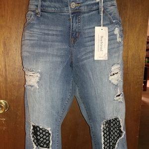 Fishnet Jeans
